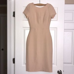 Zara Beige Sheath Dress XS
